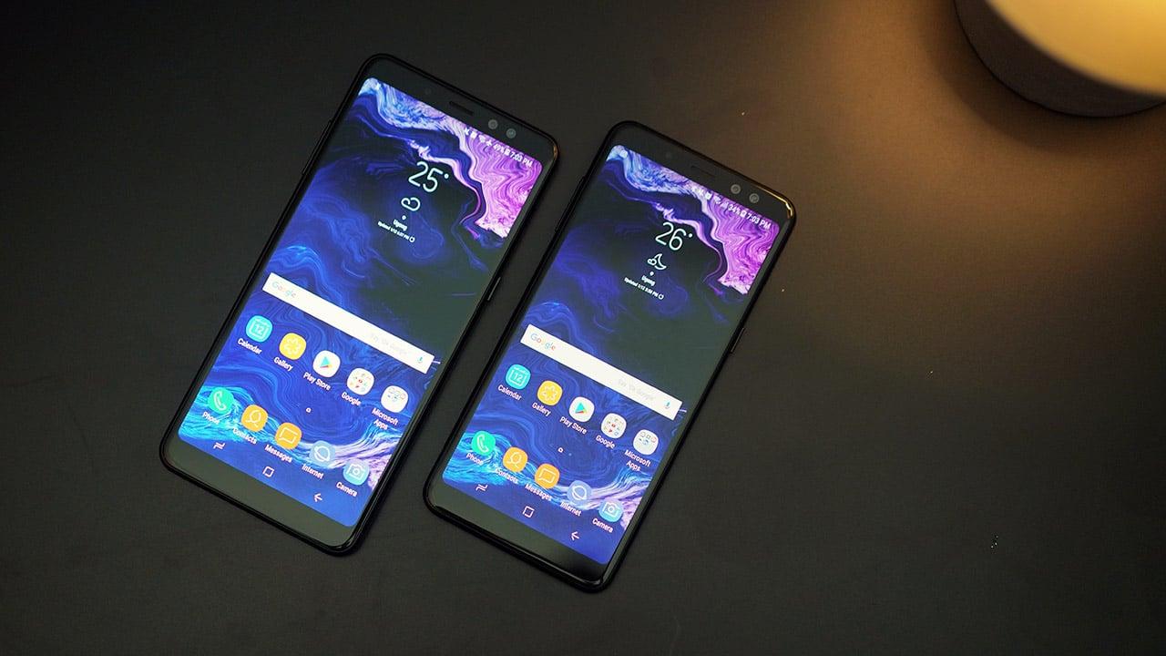 thay màn hình samsung galaxy a8 2018