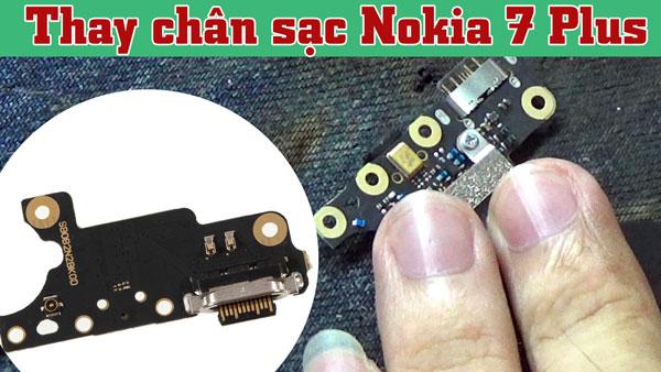 Thay Chan Sac Nokia 7 Plus 1
