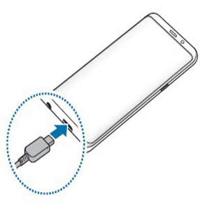 Sạc pin không đucợ, sạc chậm Samsung S9 / S9 Plus