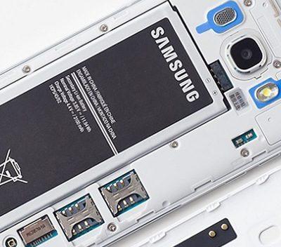 Samsung sạc không vào pin sạc chậm