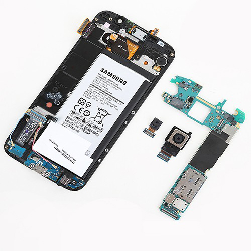 Sụp nguồn thay ic nguồn Samsung S6 EDGE / S6 Plus