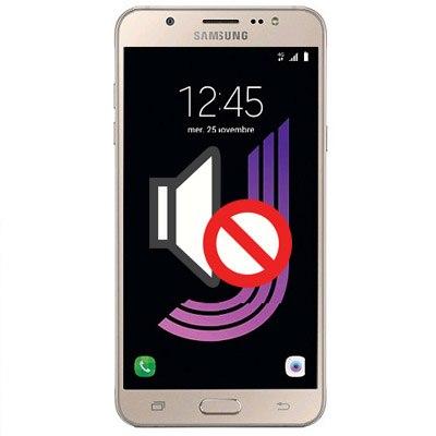 Thay loa ngoài loa nhỏ lao rè Samsung J5