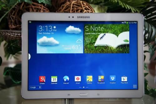 Samsung Tab Note báo nhiệt độ mất la bàn