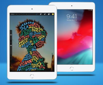iPad Mini 5 bị nhòe màu