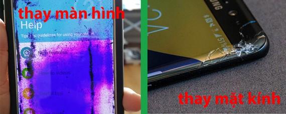 Thay màn hình Samsung Galaxy Note 7 FE
