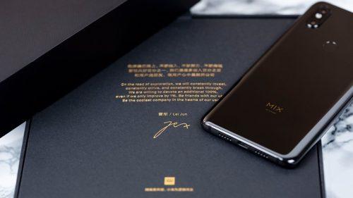 Thay vỏ, thay sườn, thay nắp lưng mạng đem đến Xiaomi Mi MIX 3S