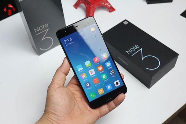 Xiaomi Mi Note3 Thay Van Tay Khong Nhan Van Tay Nhan Van Tay Cham