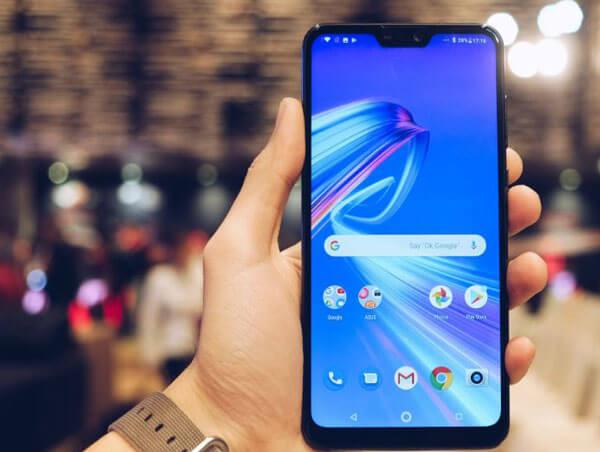 Zenfone Max Pro M2 Mat Cam Bien Anh Sang Cam Bien Tiem Can 2