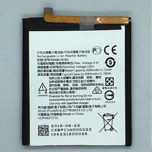 Pin Nokia 6.1 Plus X6