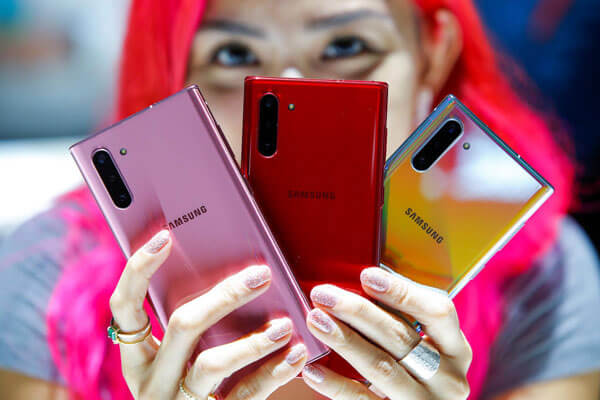 Samsung Note 10plus 5g Thay Map Lung