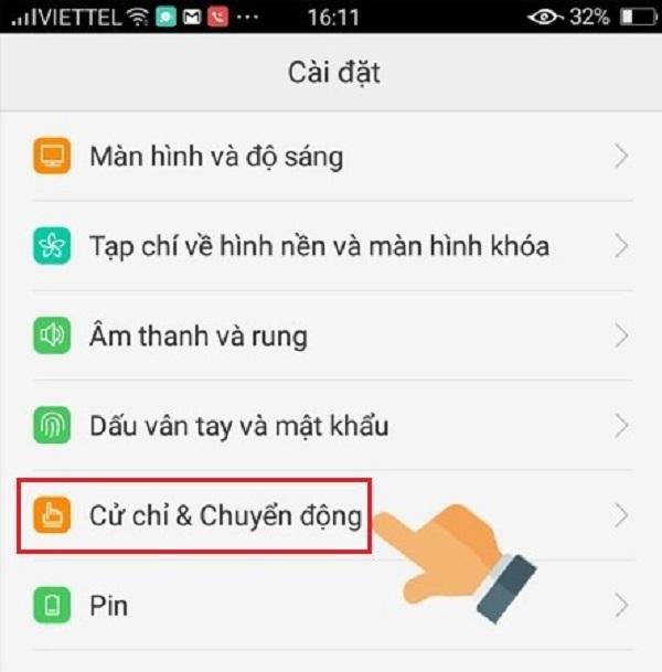 Cach Chup Man Hinh Oppo F1 4