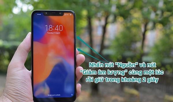 Cach Chup Man Hinh Xiaomi 2