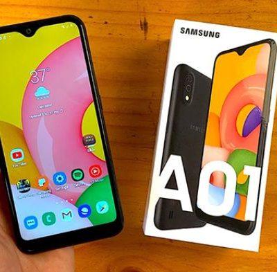 Thay Mat Kinh Samsung A01 2