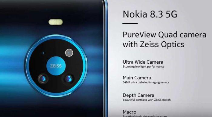 Thay Kinh Camera Sau Nokia 8 V 5g Uw 1