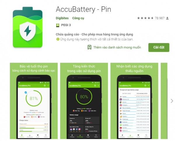 Ung Dung Battery Life