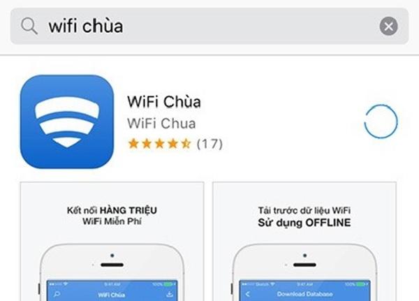 Ứng dụng Wifi chùa giúp bẻ khóa wifi trên iPhone